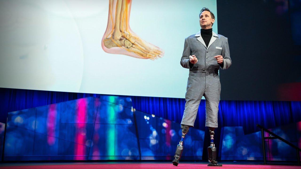 「Hugh Herr:我們如何變身成機器俠並拓展人類潛能」- How We'll Become Cyborgs and Extend Human Potential
