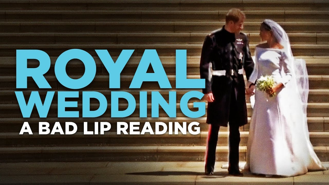 「【惡搞唇語版】皇室婚禮」- A Bad Lip Reading: Royal Wedding