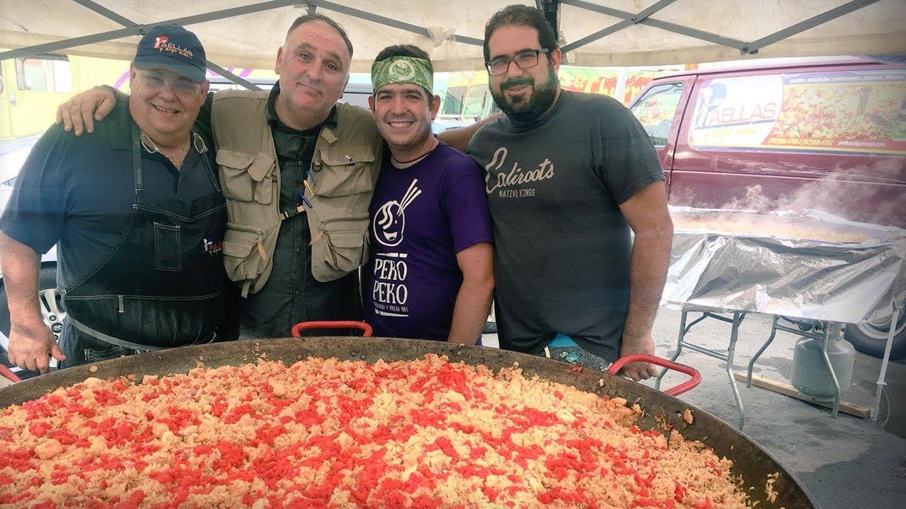 「José Andrés:颶風瑪利亞襲擊後,這群廚師如何使波多黎各人得以保持溫飽」- How a Team of Chefs Fed Puerto Rico After Hurricane Maria