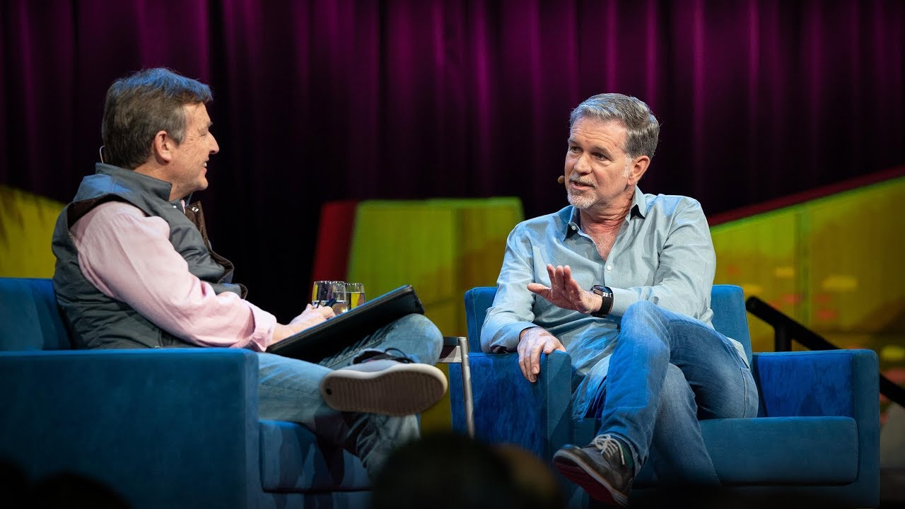 「Reed Hastings:Netflix 如何改變娛樂的模式,以及它的未來」- How Netflix Changed Entertainment—and Where It's Headed