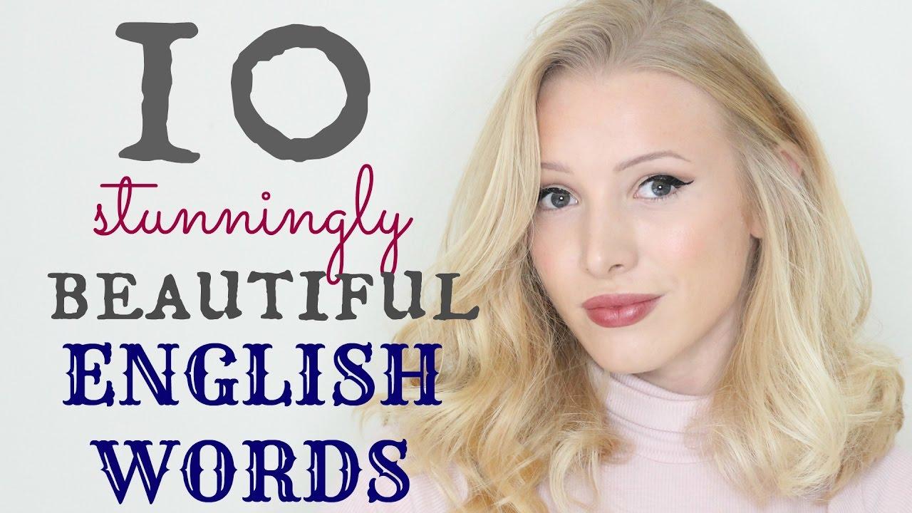 「這十個超美的英文單字,你聽過幾個?」- 10 Stunningly Beautiful English Words
