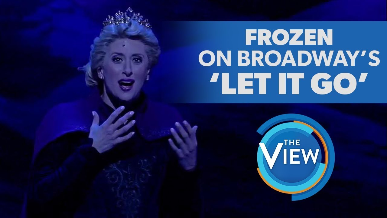 「〈Let It Go〉大家都會唱,但你看過百老匯現場版了嗎?」- Frozen The Broadway Musical's Caissie Levy Performs 'Let It Go'