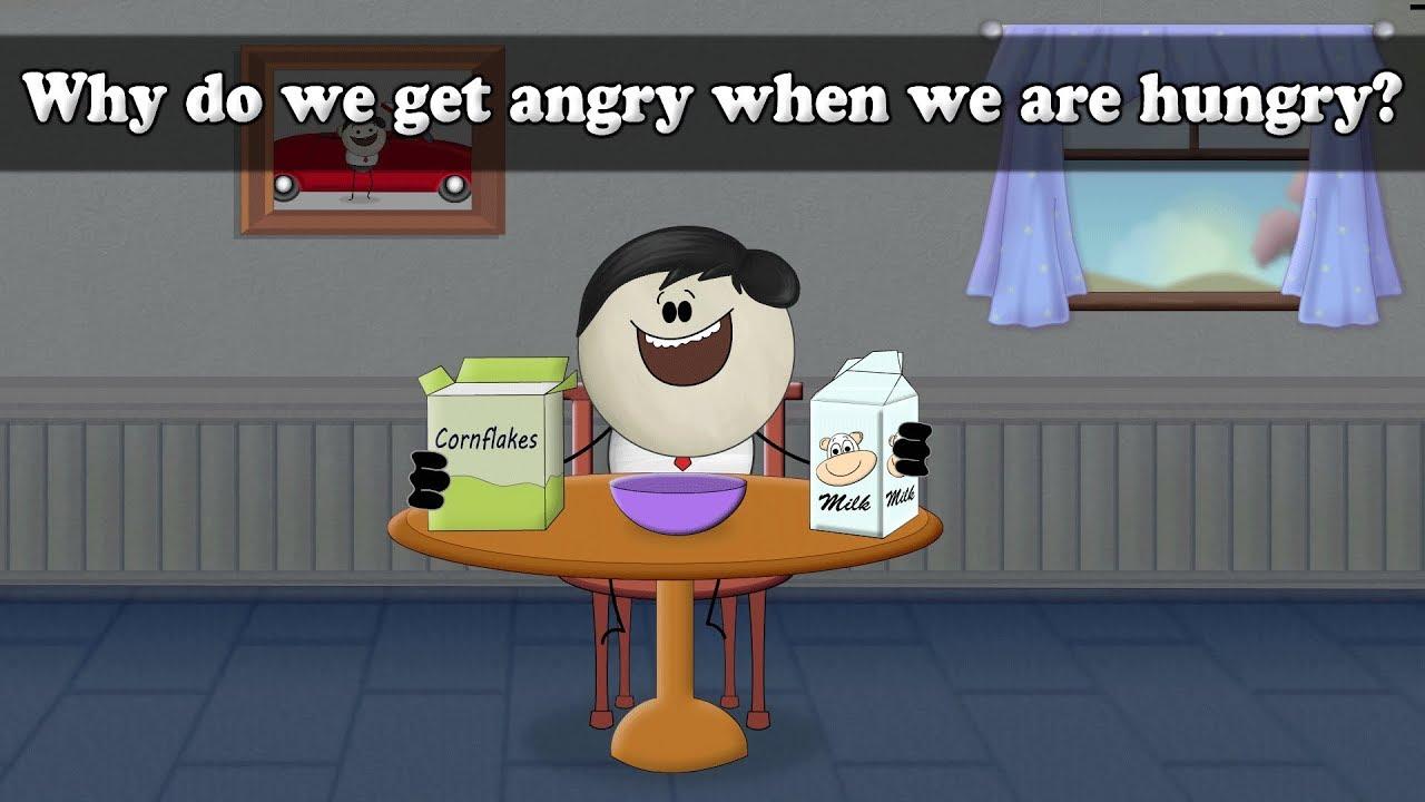餓到生氣不是我脾氣差,這可是有科學根據的!