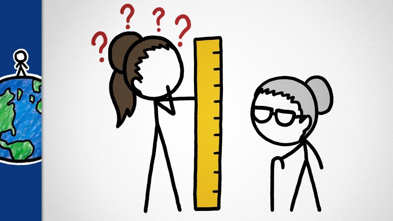 你有想過嗎?為什麼奶奶都長得矮矮的呢?