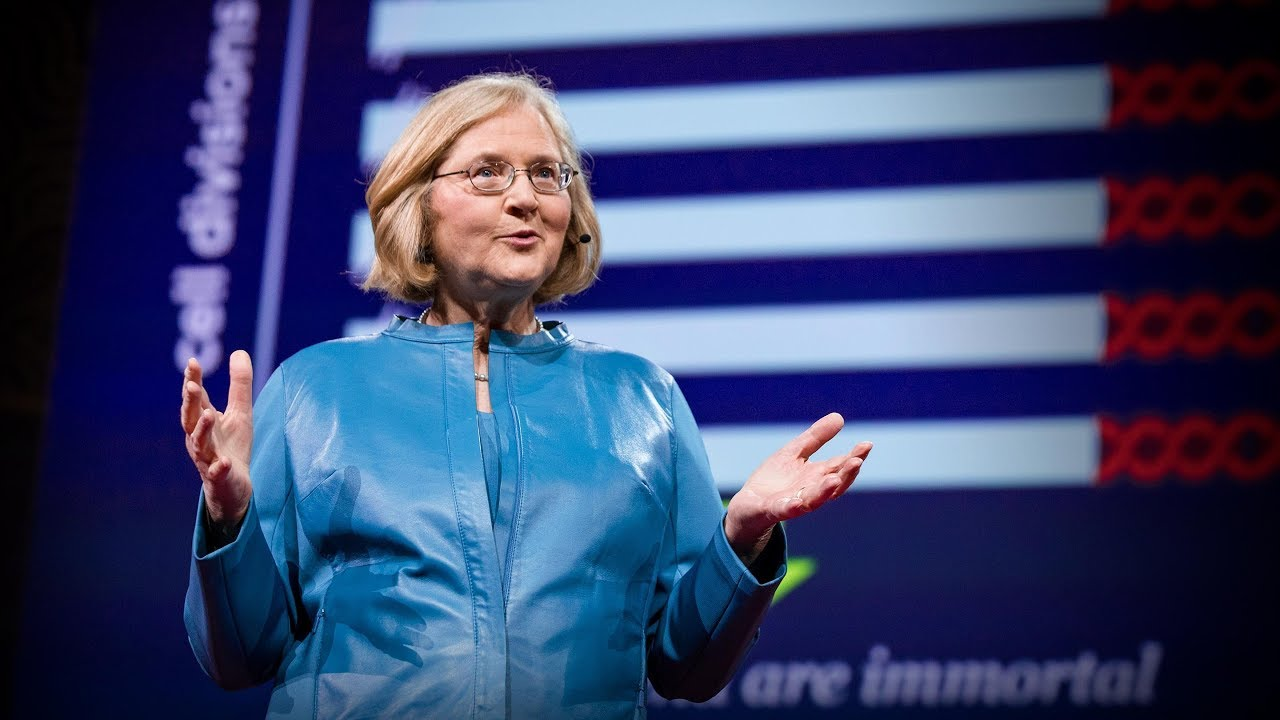 「Elizabeth Blackburn:長生不老的細胞背後藏有什麼科學」- The Science of Cells That Never Get Old