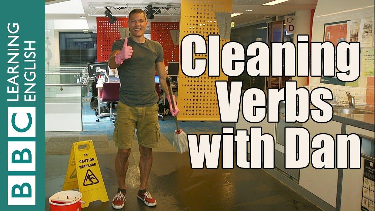 這麼實用不會不行!各種與『打掃』相關的英文動詞