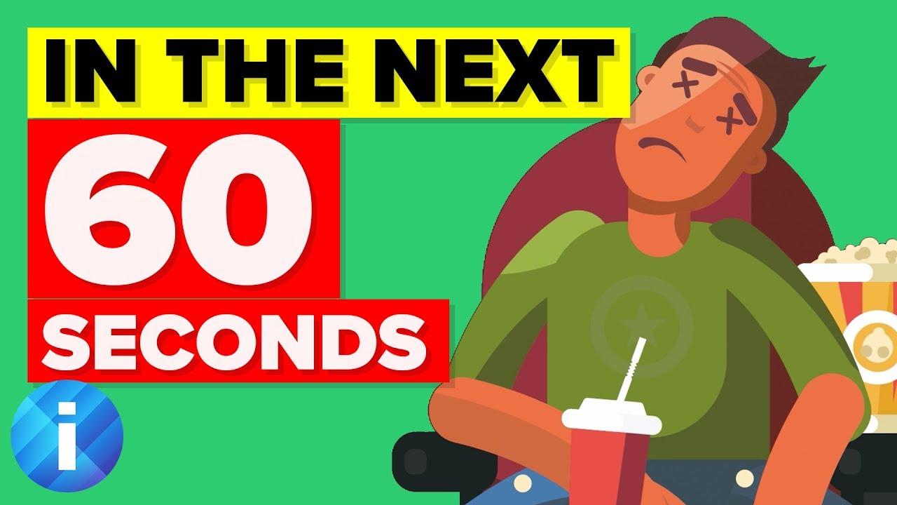 地球在接下來六十秒會發生什麼事情?