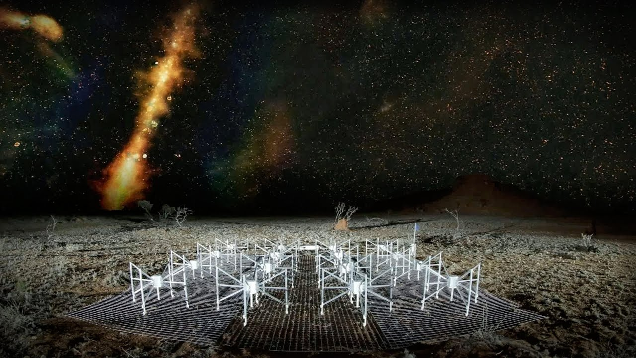「Natasha Hurley-Walker:電波望遠鏡如何讓我們看到未知的銀河」- How Radio Telescopes Show Us Unseen Galaxies