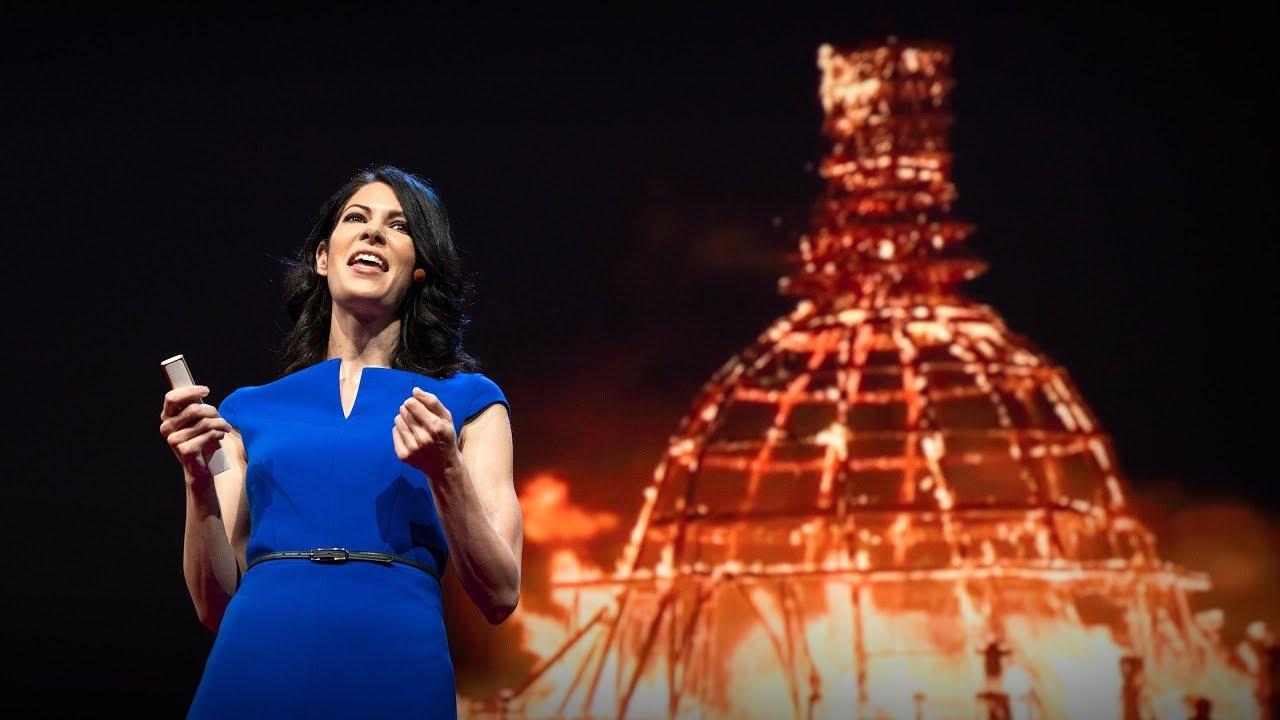 「Nora Atkinson:燒人祭的藝術能量」- Why Art Thrives at Burning Man