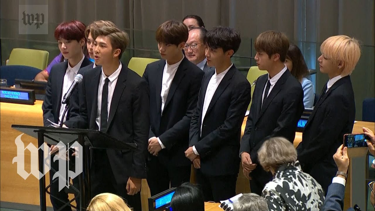 「防彈少年團登聯合國演講:愛自己所有的模樣,更要勇於為自己發聲」- The Full Speech That RM of BTS Gave at the United Nations