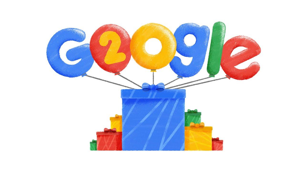 「Google 二十年,謝謝你為世界帶來的改變」- Google's 20th Birthday