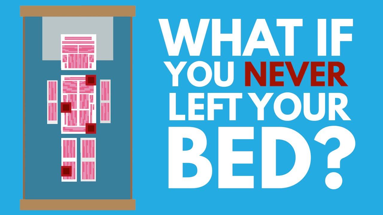 如果一輩子都躺在床上,會發生什麼事情呢?