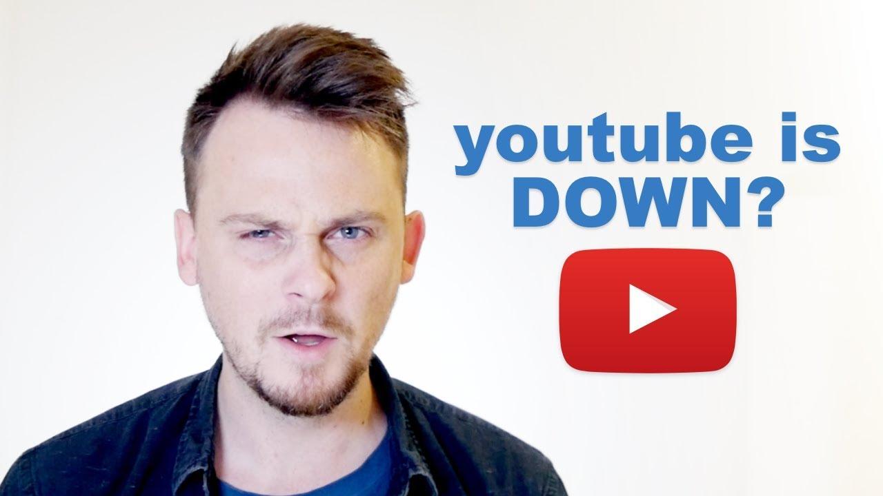 YouTube 全球大當機,別急著崩潰:先來學學『YouTube 掛掉了』英文怎麼說