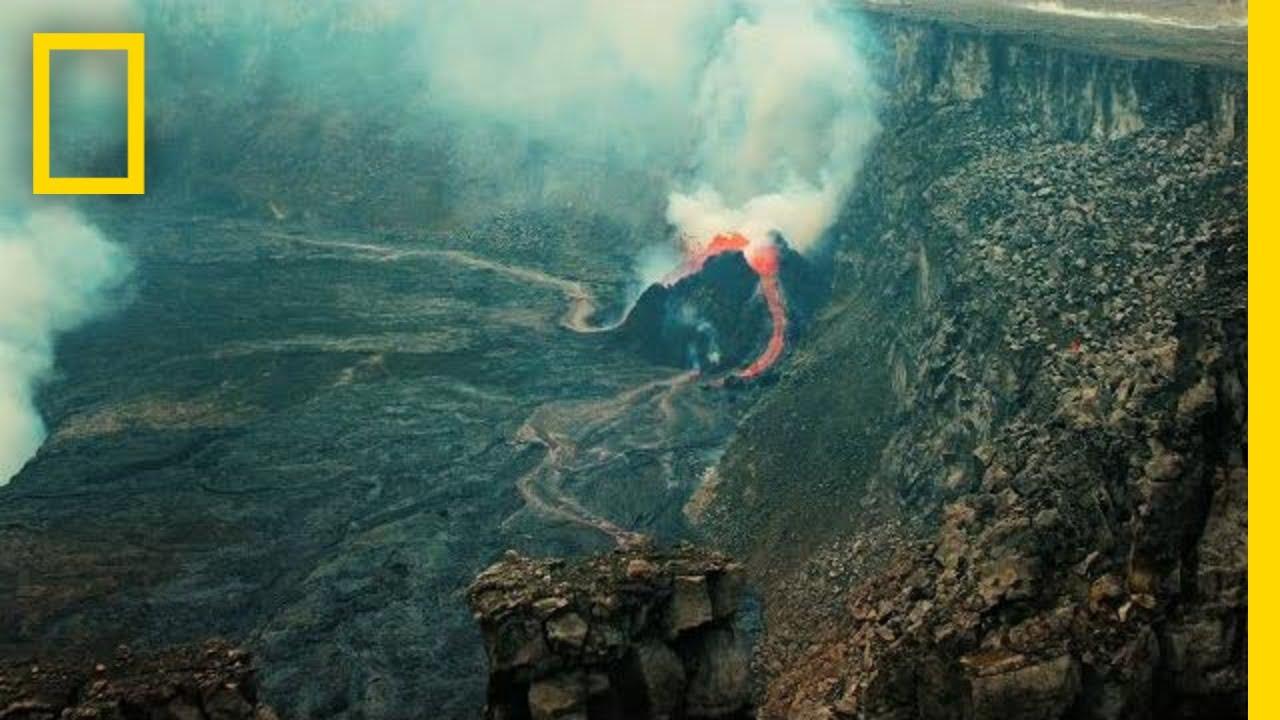有火山的地方就是我的辦公室