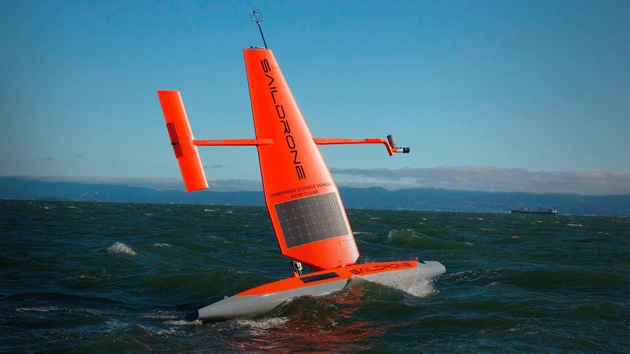 Sebastien De Halleux:風力無人機如何改變我們對海洋的認識