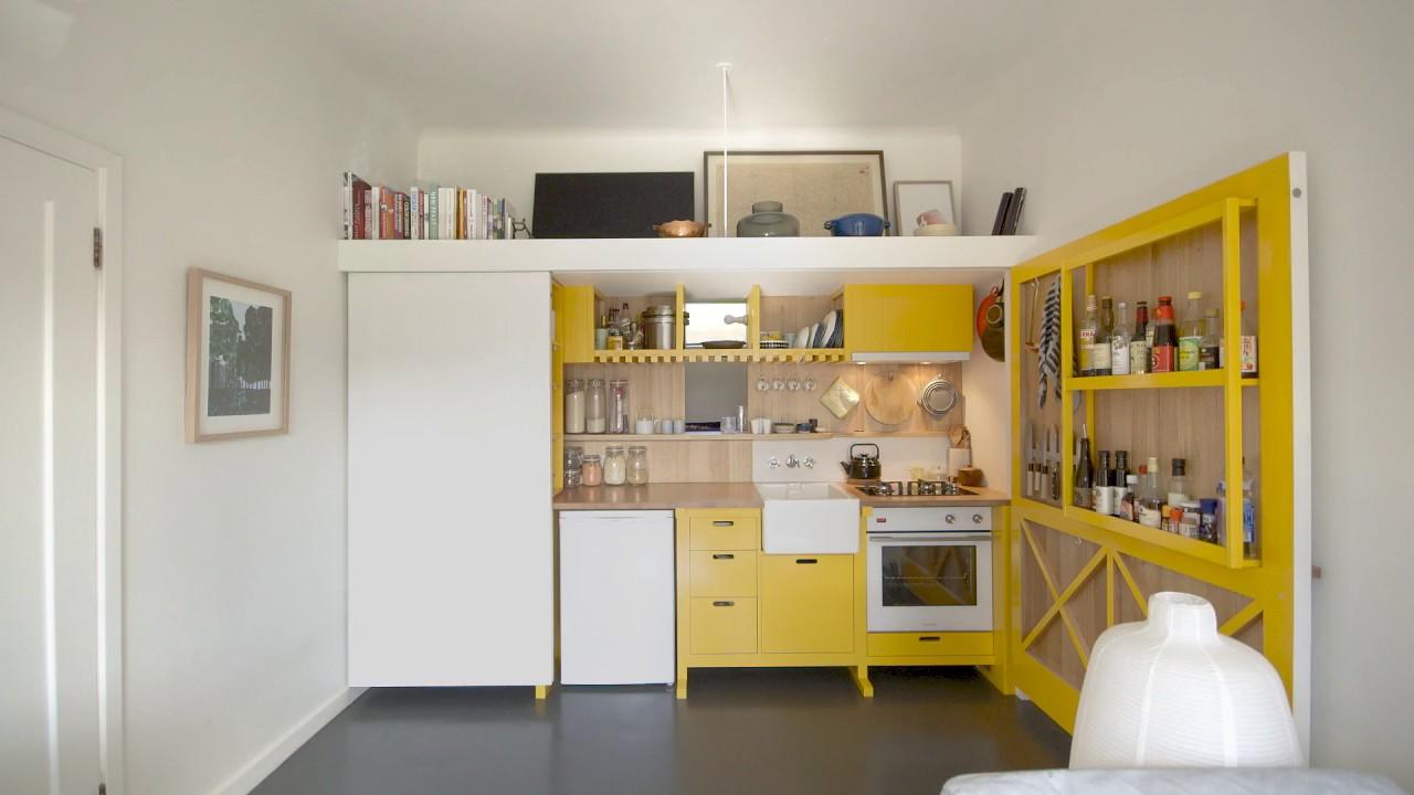 【小空間設計王】七坪公寓,廚房、客廳、房間一應俱全