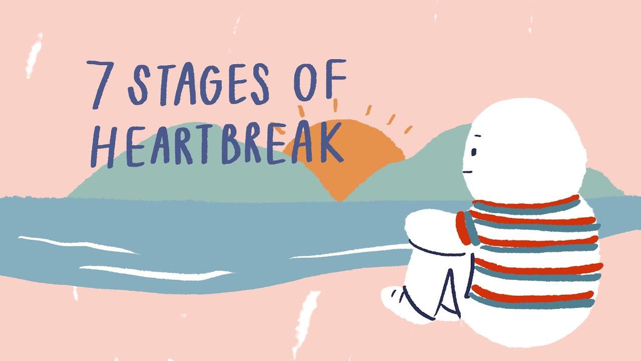 「分手後,我們都經歷過的七階段」- 7 Stages after a Break Up