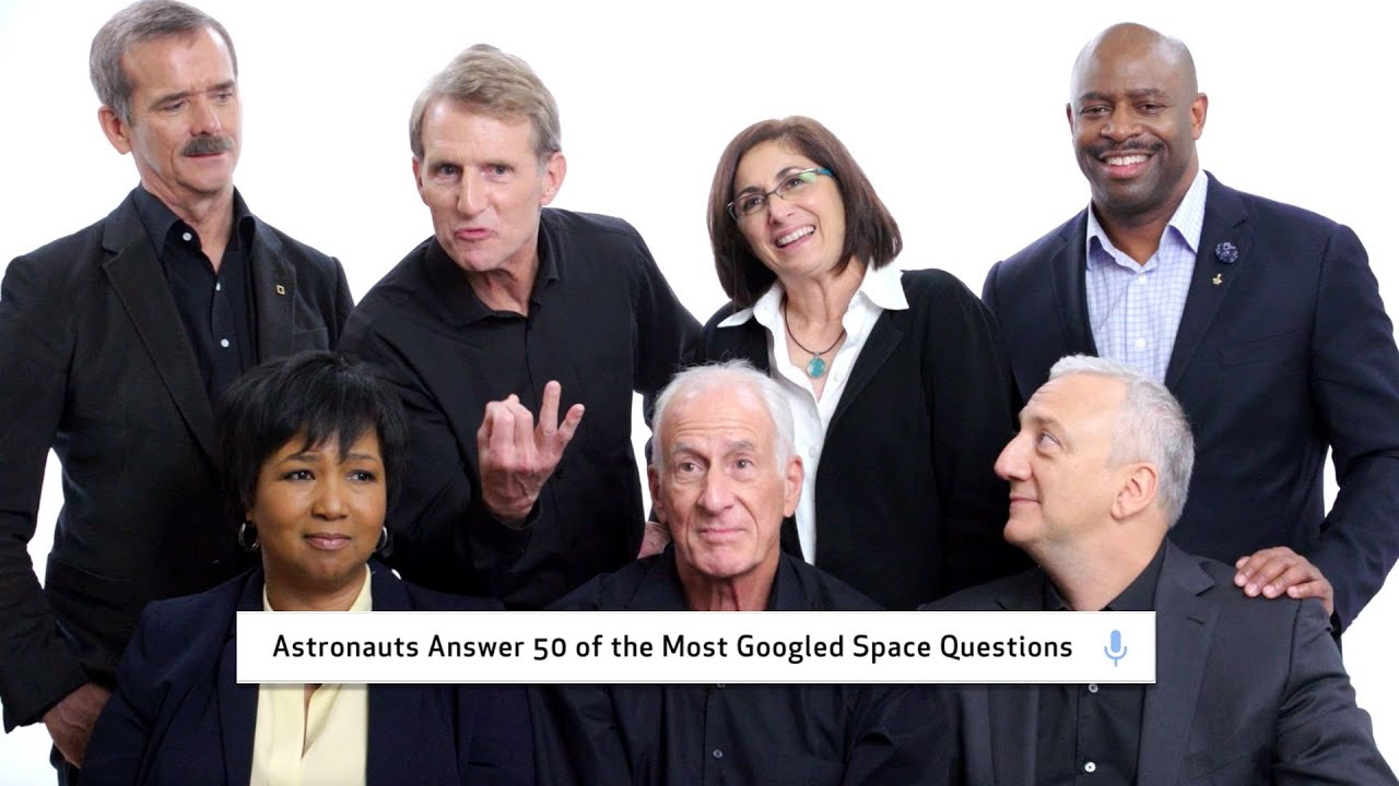 「NASA 太空人回答五十個最常被搜尋的太空問題!」- Astronauts Answer 50 of the Most Googled Space Questions