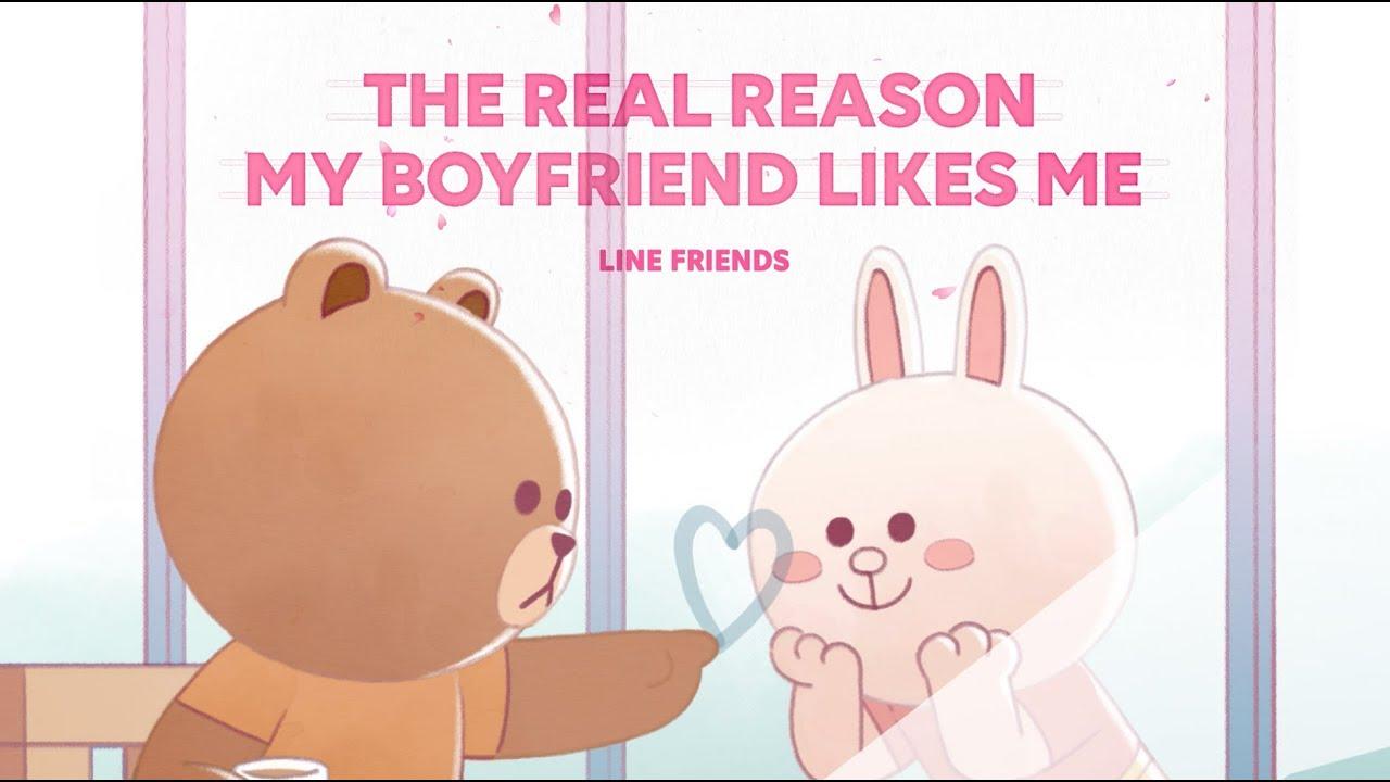 男朋友喜歡我真正的原因