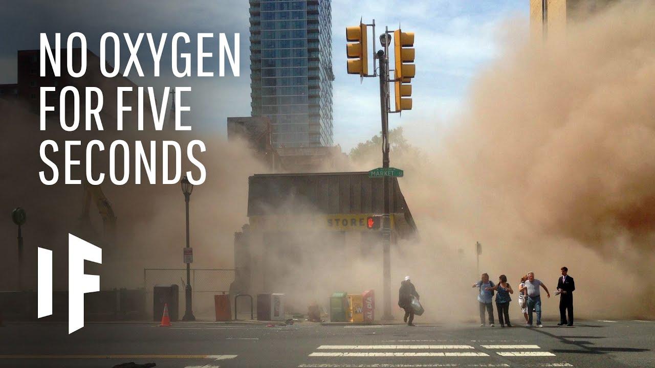如果氧氣消失五秒會發生什麼事