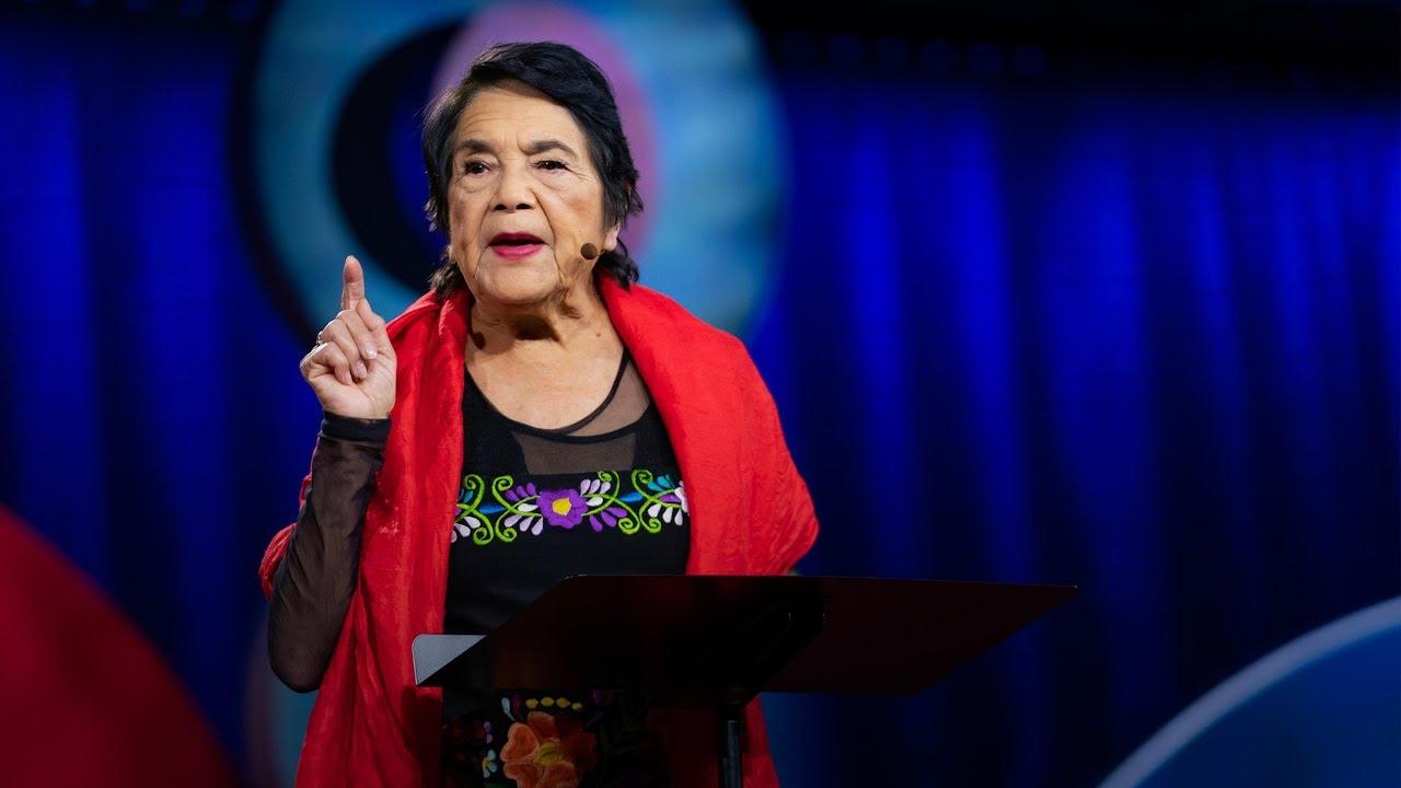 Dolores Huerta:如何克服冷漠並找到自己的能量