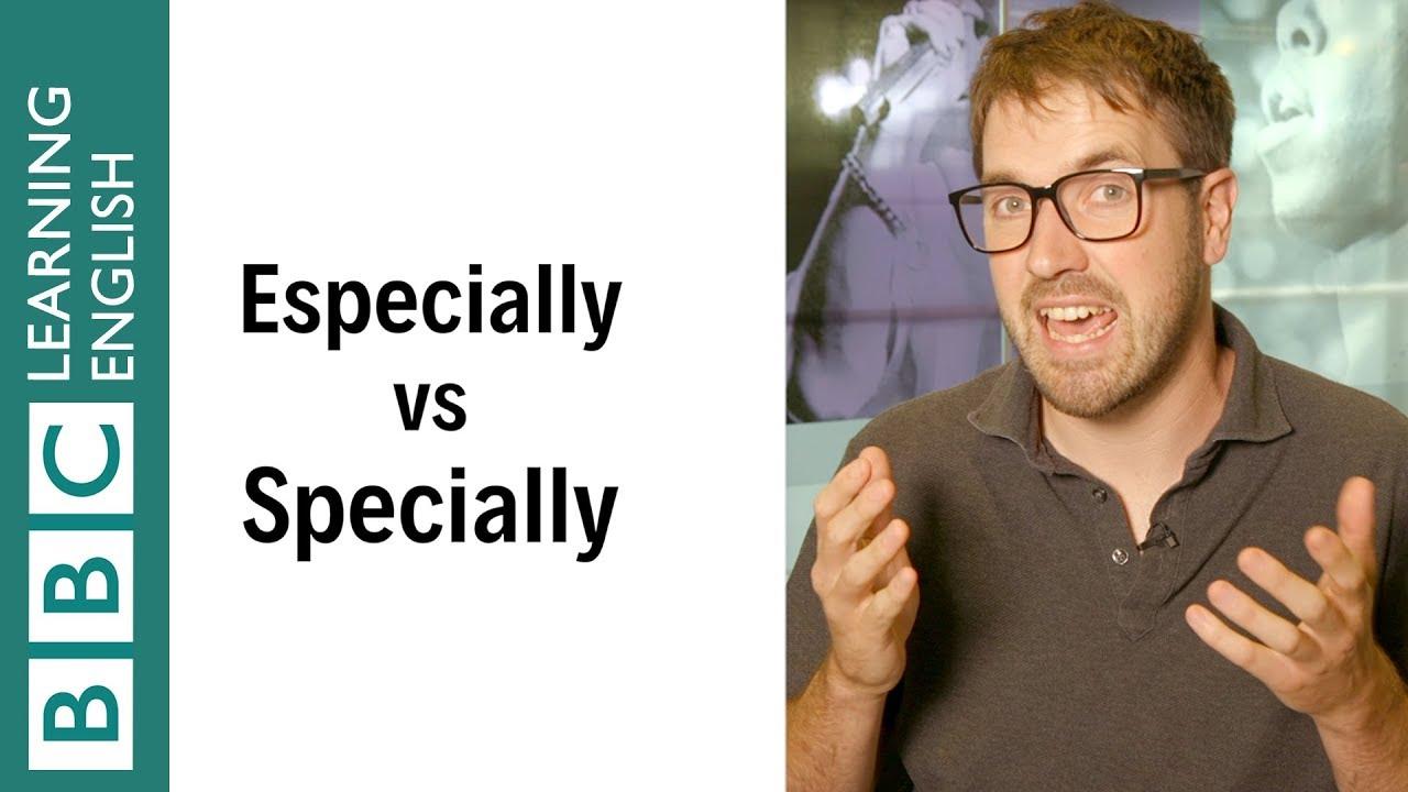 都是『特別』,especially 和 specially 差在哪?