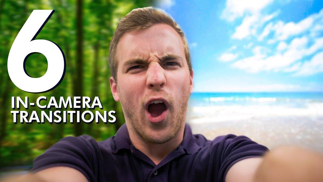 【超實用拍片小技巧】想當 YouTuber?先把這六個『轉場技巧』學起來!