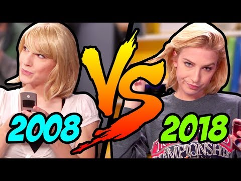十年挑戰--2008 vs. 2018 的高中生活