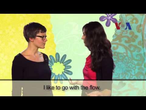 【一分鐘英語】常用片語『go with the flow』到底是什麼意思?