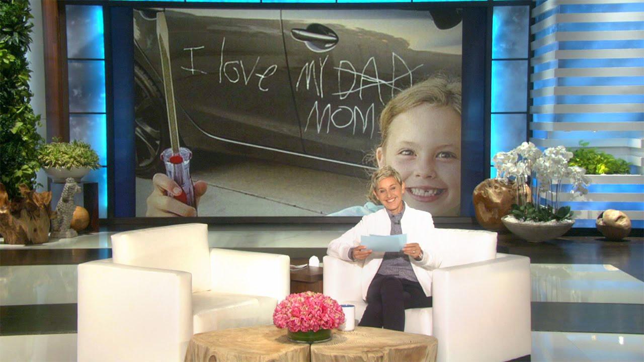 【艾倫秀】就是這些荒謬爆笑的照片讓 Ellen 不想生小孩啦!