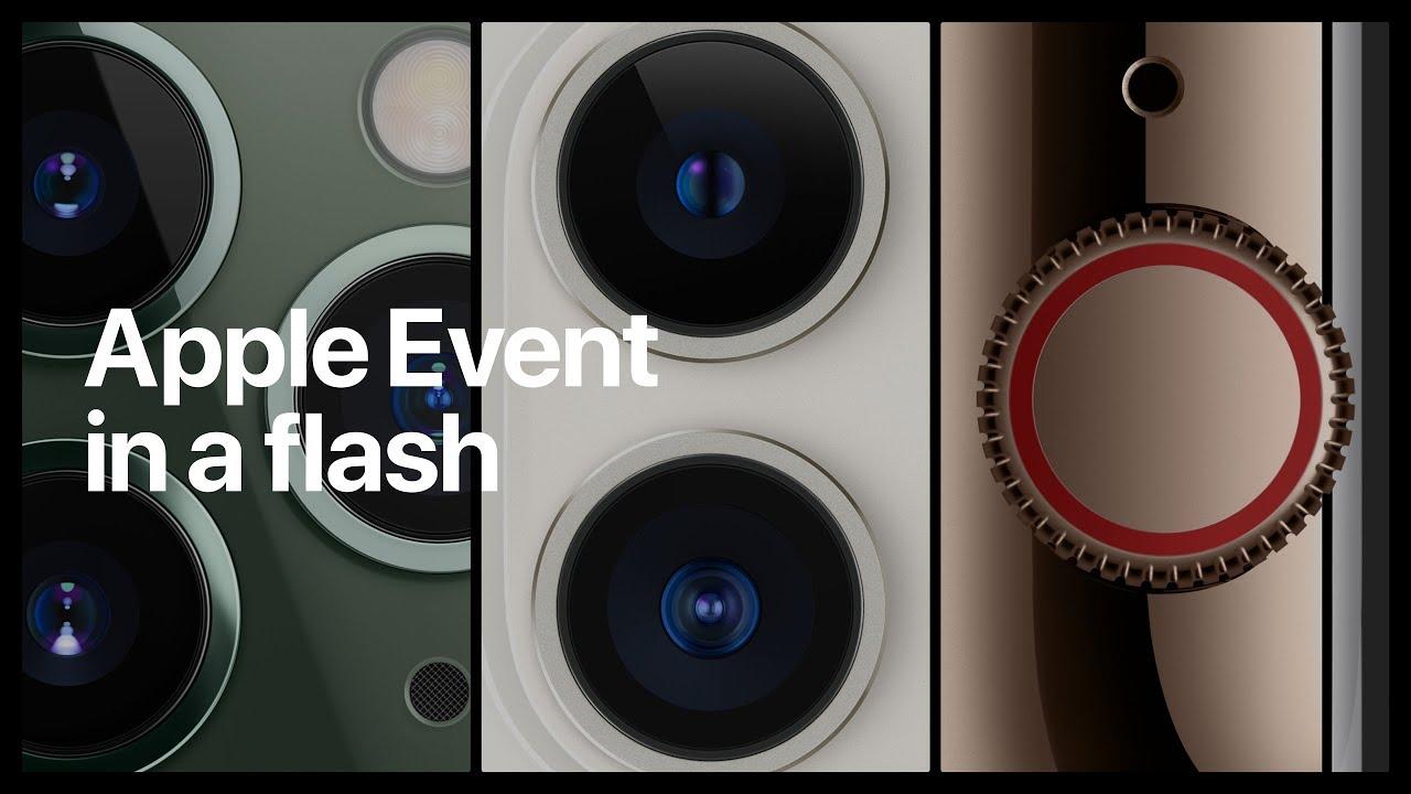 【幽默版懶人包】兩分鐘看完 Apple 發表會:iPhone 11 Pro、iPhone 11、Apple Watch Series 5