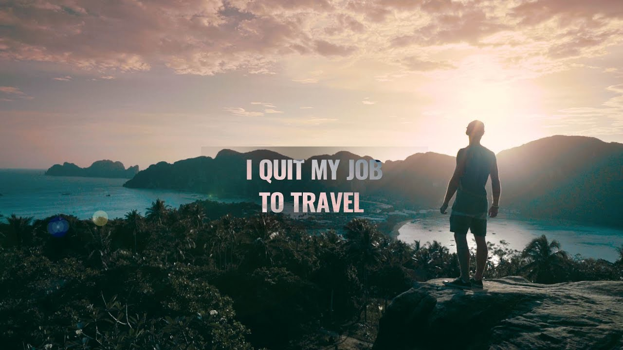 「辭掉工作,踏上旅程」- The Story Begins: I Quit My Job to Travel