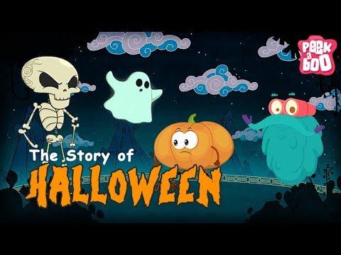「萬聖節跟南瓜燈籠是怎麼來的?」- Halloween Stories for Children