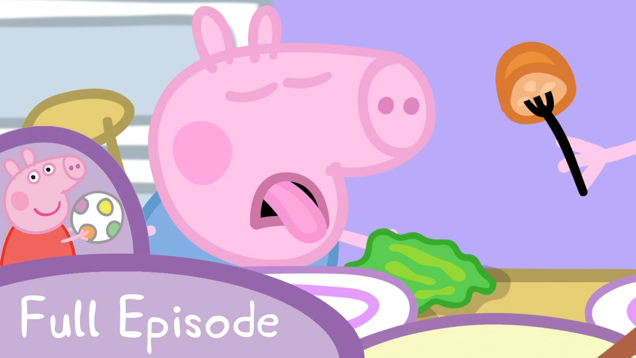 【看卡通學英文】佩佩豬到奶奶家吃午餐