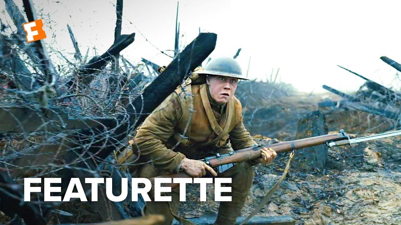 2019 金球獎最佳電影《1917》,一鏡到底震撼拍攝!