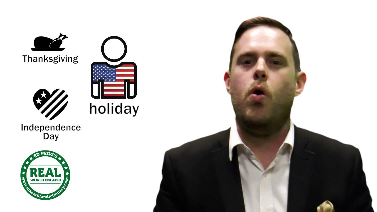 都是『假期』,holiday 跟 vacation 差在哪?