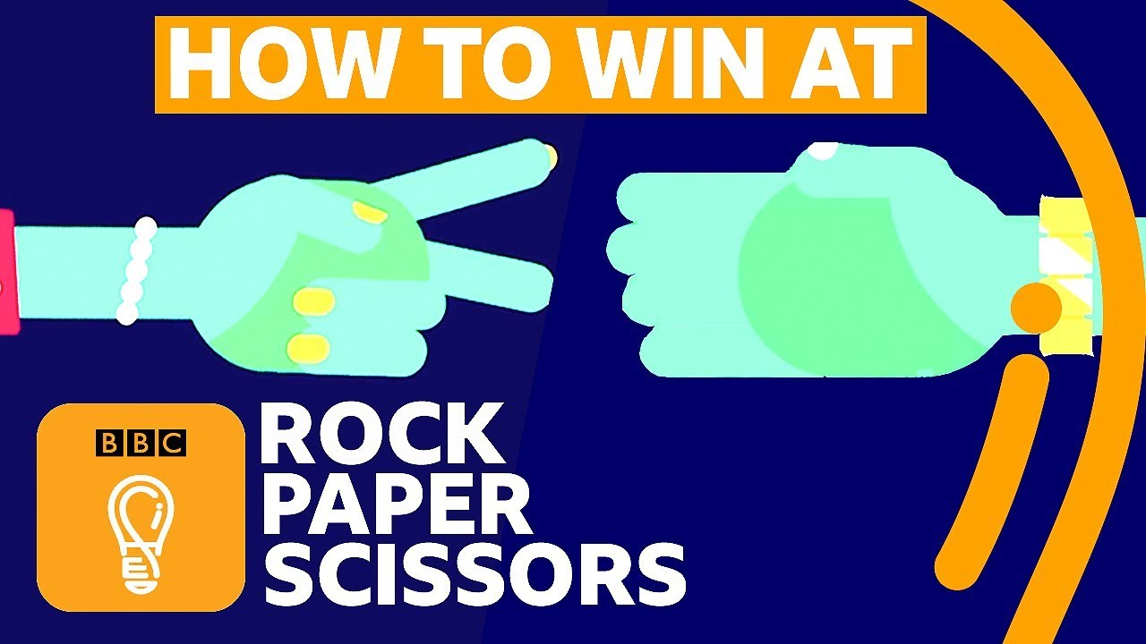「猜拳時要怎麼贏對方?竟然有科學方法可以提高勝率!」- How to Win at Rock-Paper-Scissors