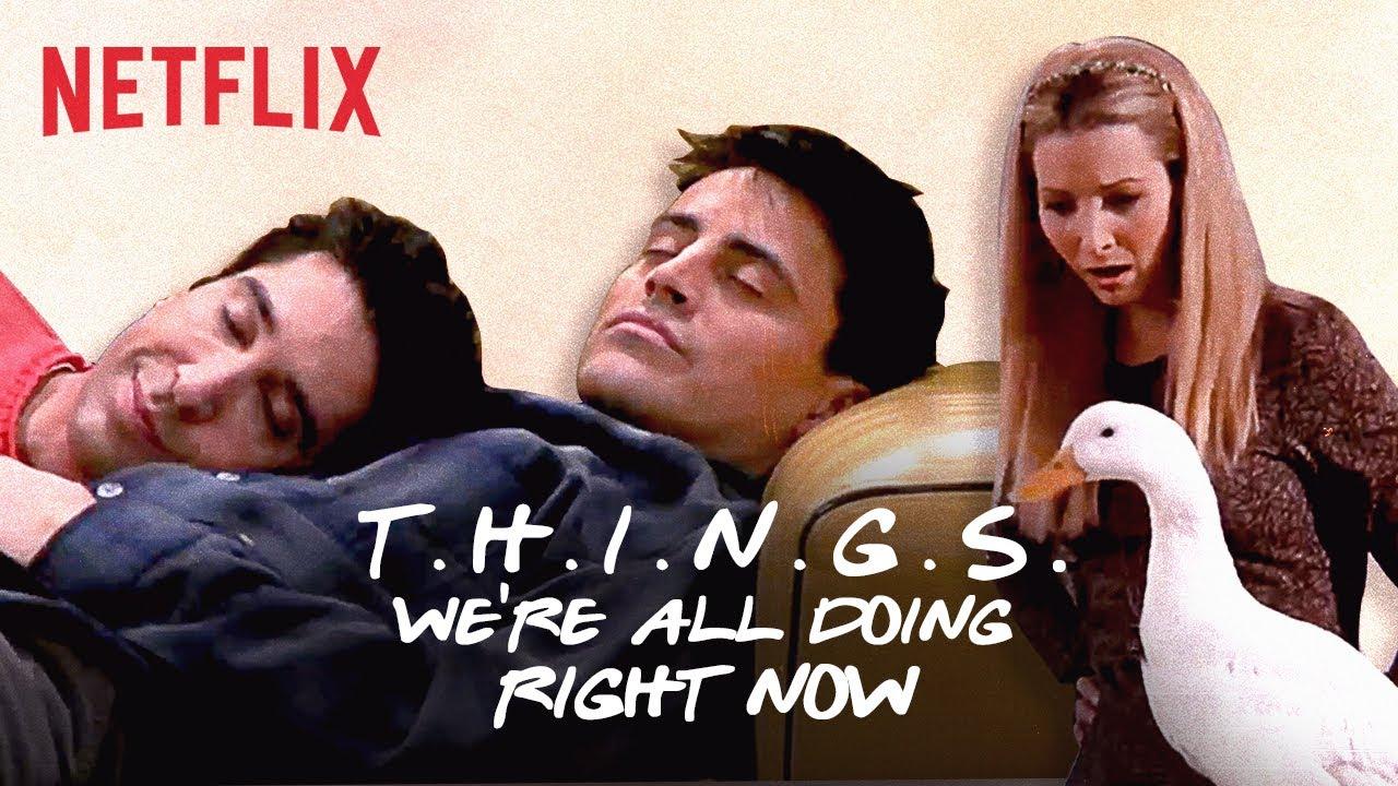防疫期間太無聊!我們在家會做的 12 件事情--經典《六人行》版本