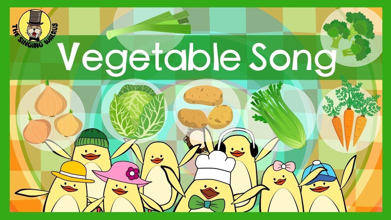 【蔬菜之歌】菠菜、高麗菜、綠花椰菜,英文一次學會!
