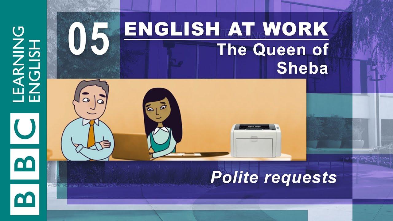 「超實用商業英語會話,學會有禮貌請求別人幫忙!」- Make Polite Requests