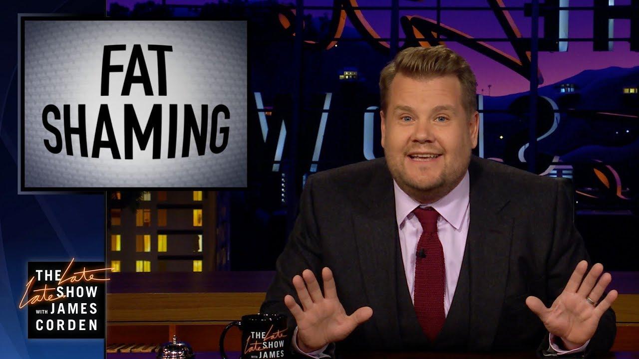 James Corden 公開反擊 Bill Maher 針對『肥胖羞辱』的言論