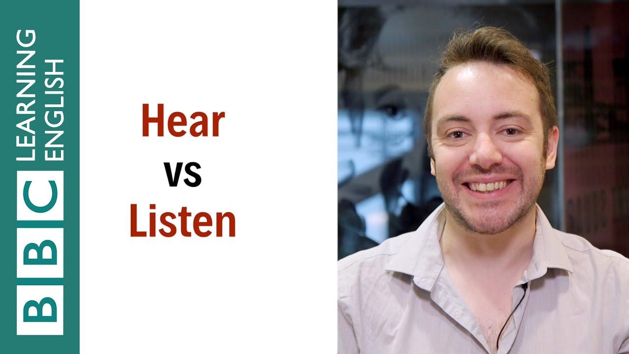 「【一分鐘英語】都是『聽』,hear 跟 listen 到底差在哪裡呢?」- What's the Difference between