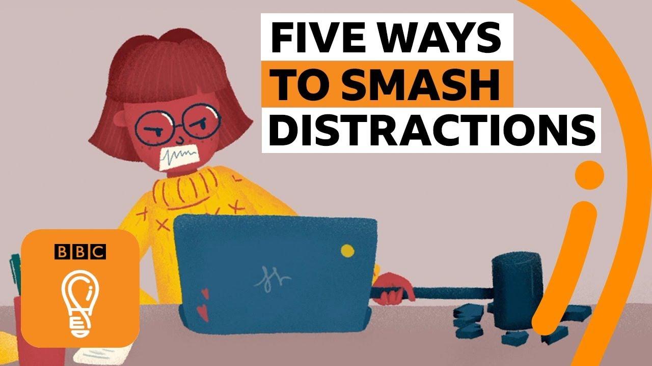 五種不分心的方法