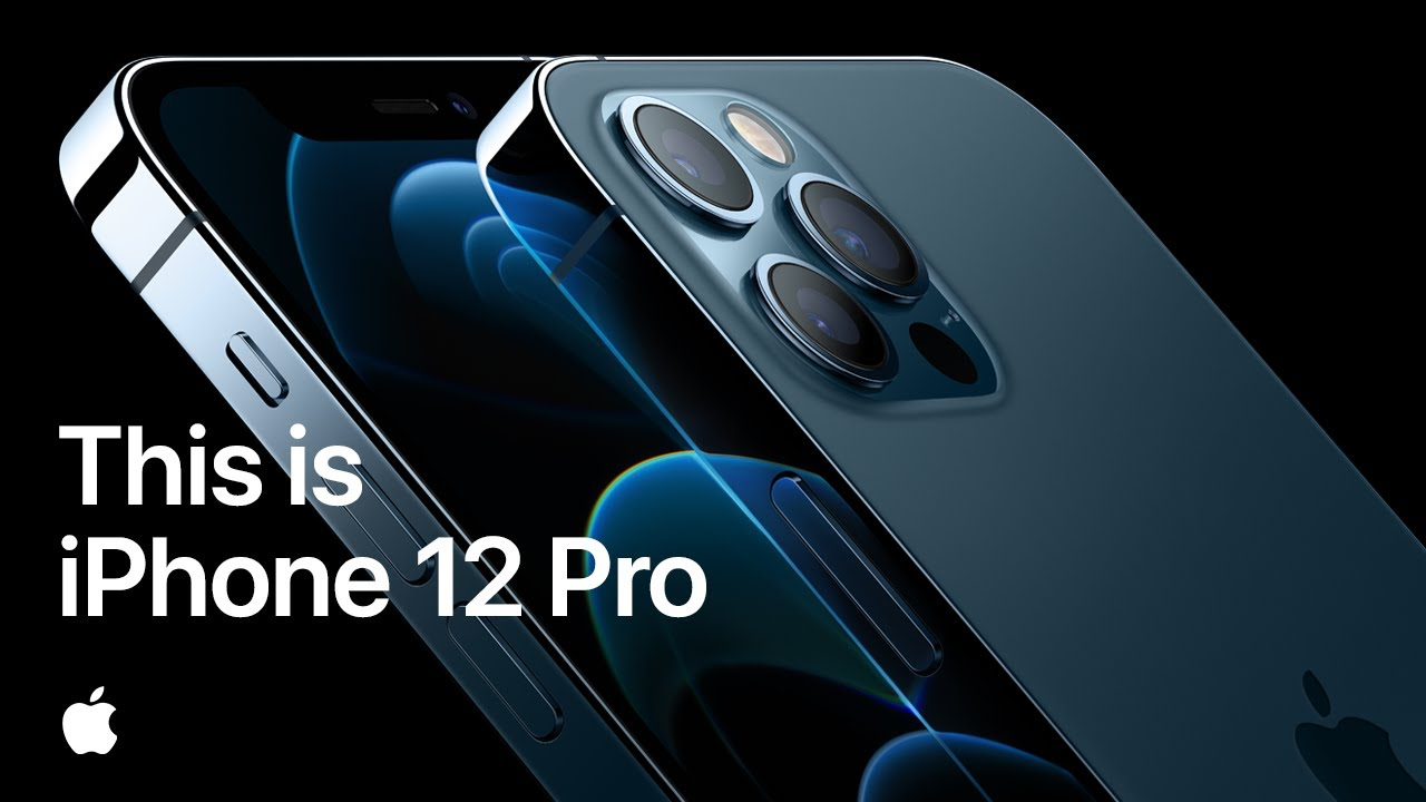 「Apple 隆重推出 iPhone 12 Pro」- This Is iPhone 12 Pro—Apple
