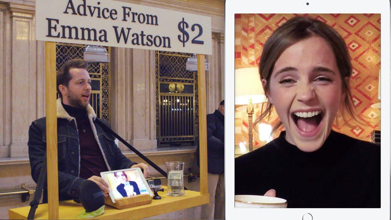 付兩美金,艾瑪華森就幫你解答一個問題!