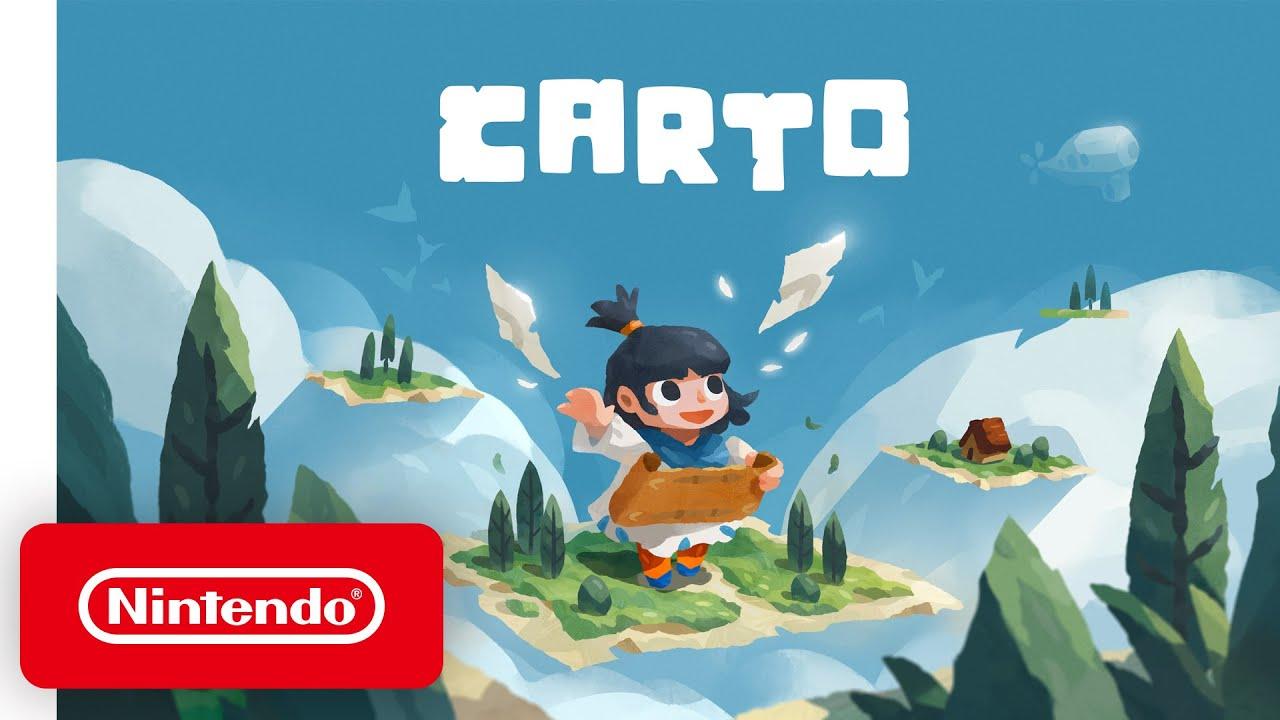 可愛又益智的 Switch 遊戲《Carto》