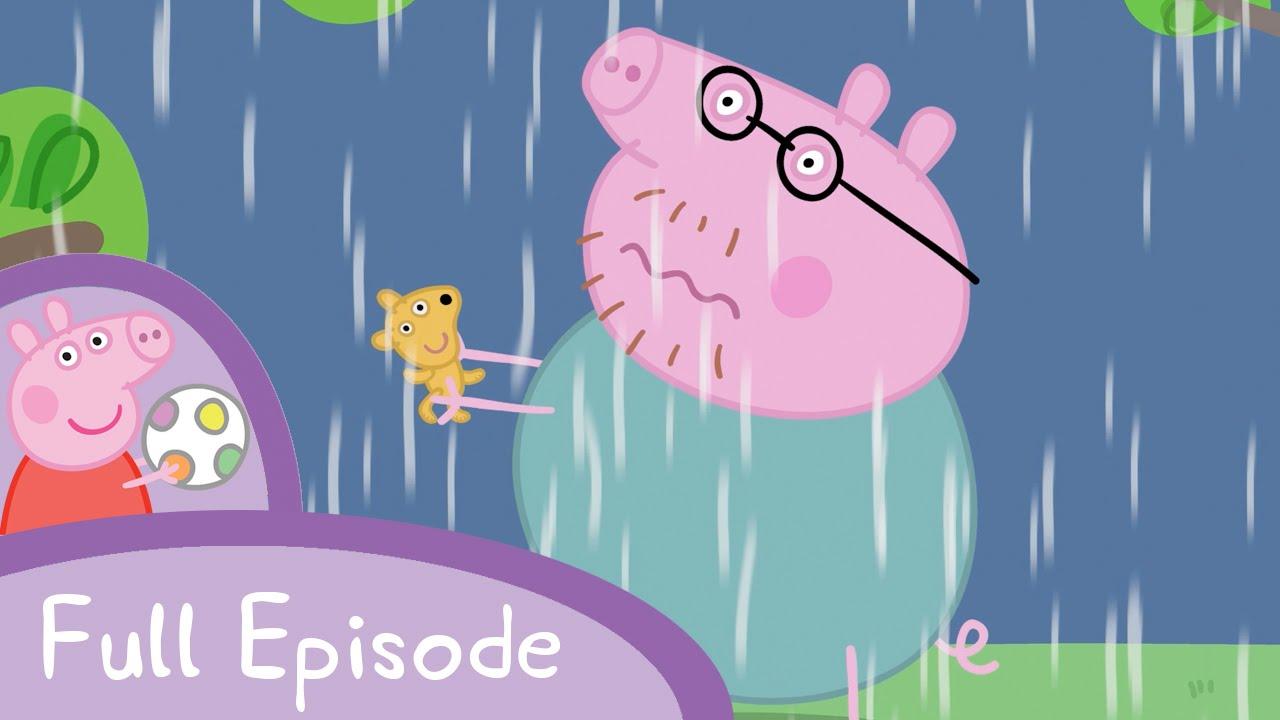 【看卡通學英文】佩佩豬遇到大雷雨