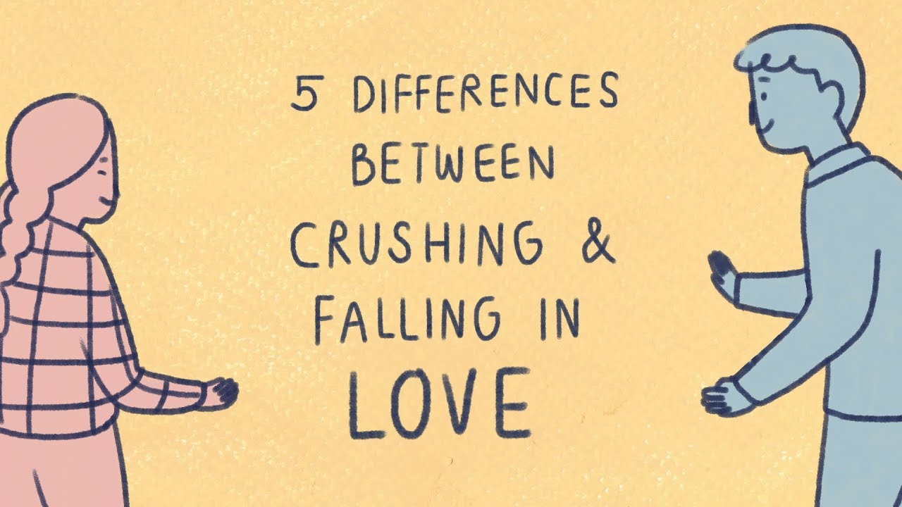 「迷戀與愛的五種區別」- 5 Differences Between Crushing and Falling in Love