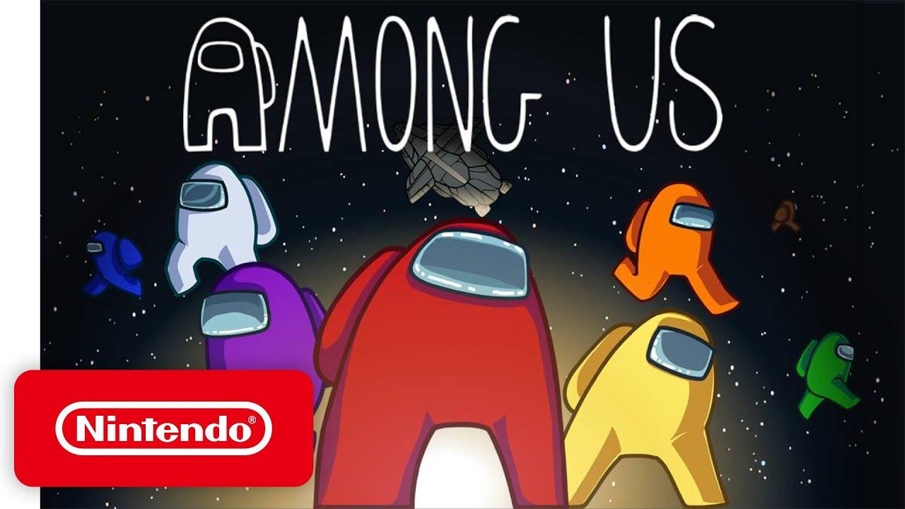 「近期最夯遊戲 Among Us 要在 Switch 上架啦!」- Among Us - Launch Trailer - Nintendo Switch