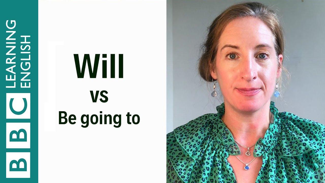 「都是表達『未來』,will 和 be going to 差在哪呢?」- Will vs Be Going to - English in a Minute